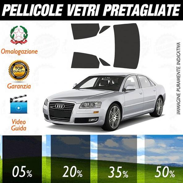 Audi A8 dal 2010 ad OGGI Pellicole Oscuramento Vetri Auto Pre Tagliate a Misura