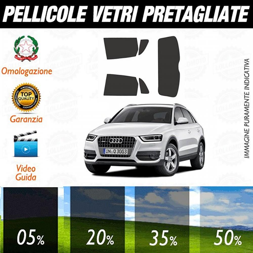 Audi Q3 11-15 Pellicole Oscuramento Vetri Auto Pre Tagliate a