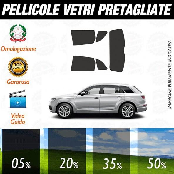 Audi Q7 07-15 Pellicole Oscuramento Vetri Auto Pre Tagliate a