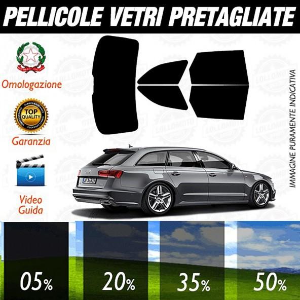 Audi A6 Avant SW dal 2006 ad OGGI Pellicole Oscuramento Vetri Auto Pre Tagliate a Misura