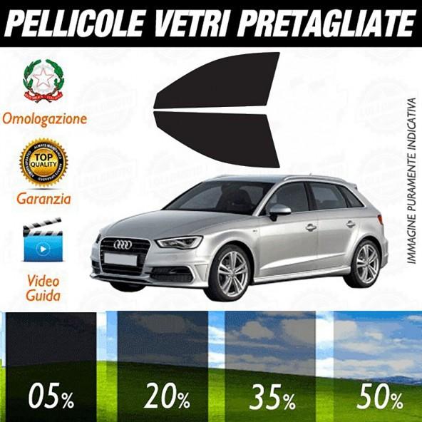 Audi A3 13-16 5P Pellicole Oscuramento Vetri Anteriori Auto Pre