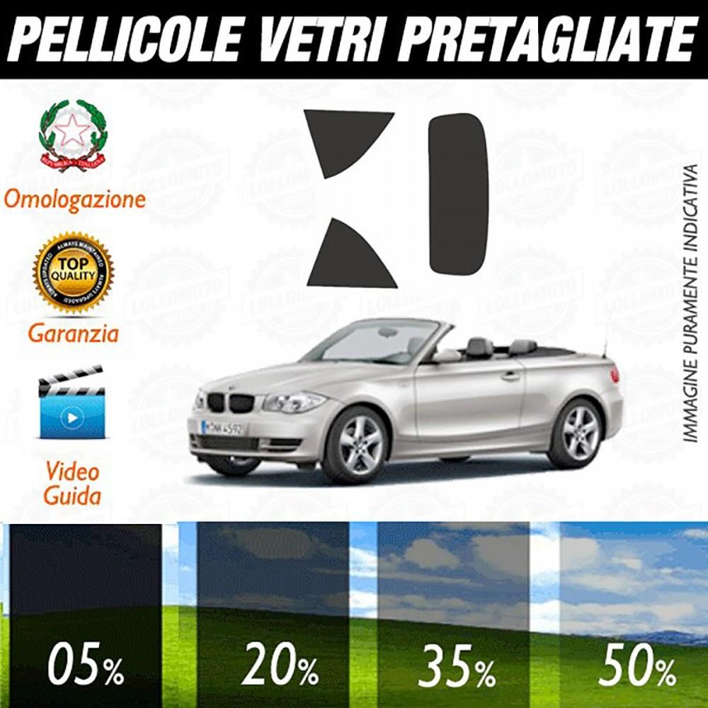 Bmw Serie 1 Cabrio 08-13 Pellicole Oscuramento Vetri Auto Pre
