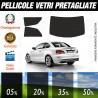 Bmw Serie 1 Coupé 08-13 Pellicole Oscuramento Vetri Auto Pre