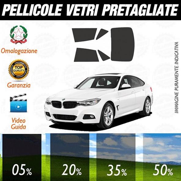 Bmw Serie 3 Gran Turismo dal 2014 ad OGGI Pellicole Oscuramento Vetri Auto Pre Tagliate a Misura