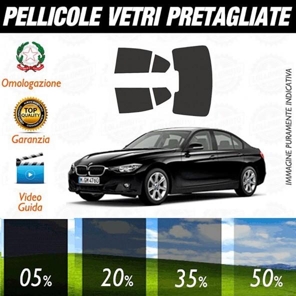 Bmw Serie 3 Berlina 12-16 Pellicole Oscuramento Vetri Auto Pre