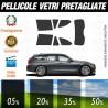 Bmw Serie 3 Touring dal 2012 ad OGGI Pellicole Oscuramento Vetri Auto Pre Tagliate a Misura