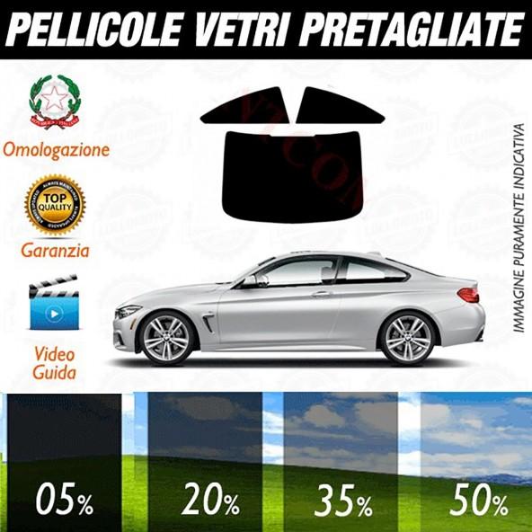 Bmw Serie 4 Coupé dal 2014 ad OGGI Pellicole Oscuramento Vetri Auto Pre Tagliate a Misura