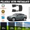 Bmw X6 08-14 Pellicole Oscuramento Vetri Auto Pre Tagliate a