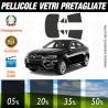 Bmw X6 15-16 Pellicole Oscuramento Vetri Auto Pre Tagliate a