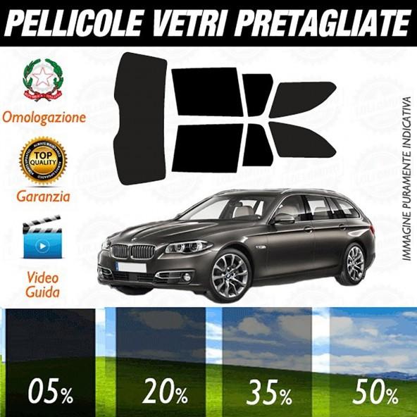 Bmw Serie 5 Touring dal 2010 al 2016 Pellicole Oscuramento Vetri Posteriori Auto Pre Tagliate a Misura