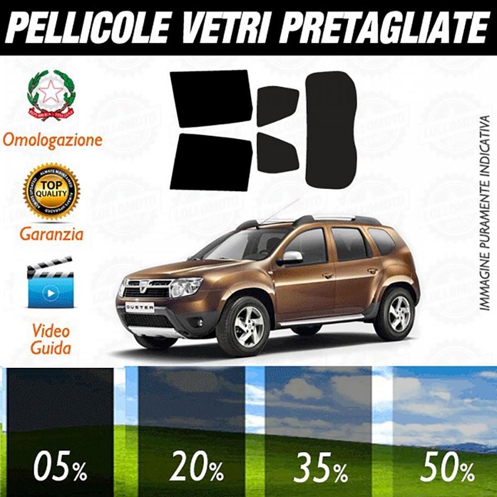 Dacia Duster 5P 10-16 Pellicole Oscuramento Vetri Posteriori