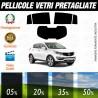 Kia Sportage 11-16 Pellicole Oscuramento Vetri Auto Pre Tagliate a Misura