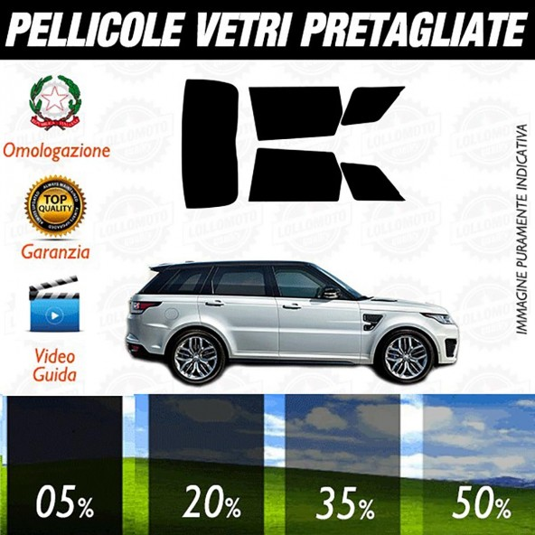 Range Rover Sport 14-16 Pellicole Oscuramento Vetri Auto Pre