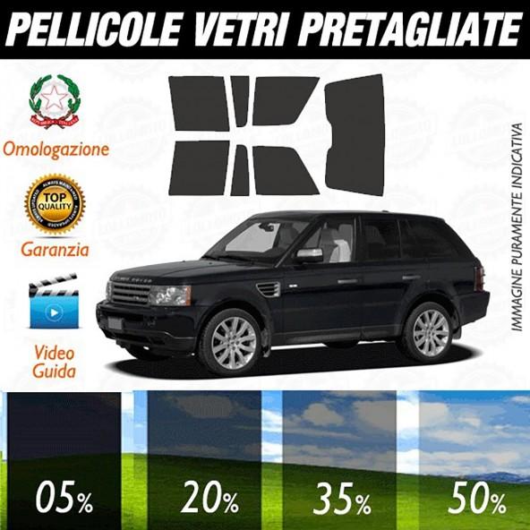 Land Rover Range Rover dal 2003 al 2012 Pellicole Oscuramento Vetri Auto Pre Tagliate a Misura