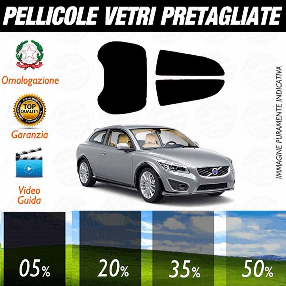 Volvo C30 3P 06-12 Pellicole Oscuramento Vetri Auto Pre