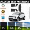 Land Rover Evoque 11-16 Pellicole Oscuramento Vetri Auto Pre