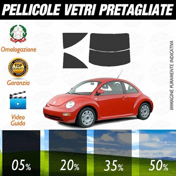 Volkswagen Beatle Coupè dal 1998 al 2011 Pellicole Oscuramento Vetri Auto Pre Tagliate a Misura