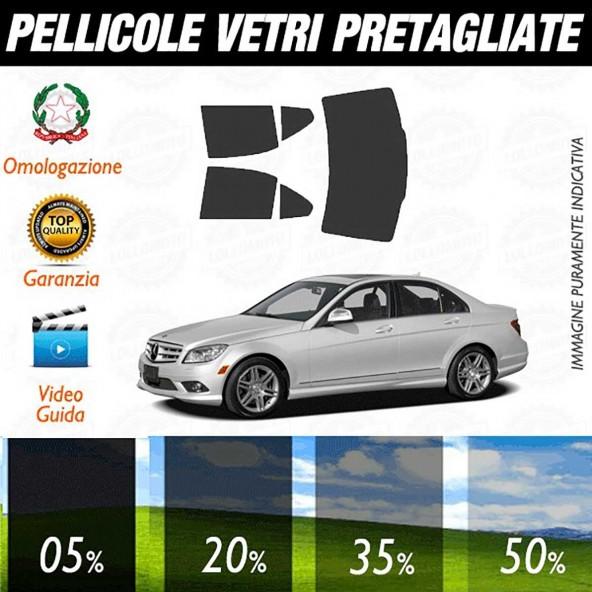 Mercedes C Coupé 08-13 Pellicole Oscuramento Vetri Auto Pre