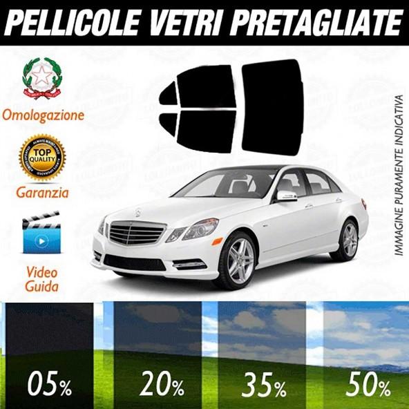 Mercedes E Sedan dal 2010 ad OGGI Pellicole Oscuramento Vetri Auto Pre Tagliate a Misura