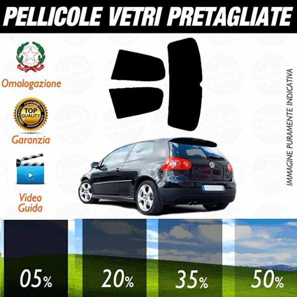Volkswagen Golf 5 3P 03-08 Pellicole Oscuramento Vetri