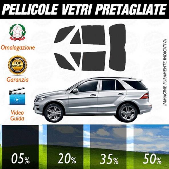 Mercedes Ml 2012 Pellicole Oscuramento Vetri Auto Pre Tagliate