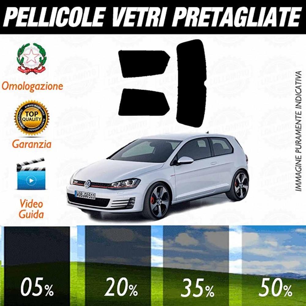 Volkswagen Golf 7 3P 13-17 Pellicole Oscuramento Vetri