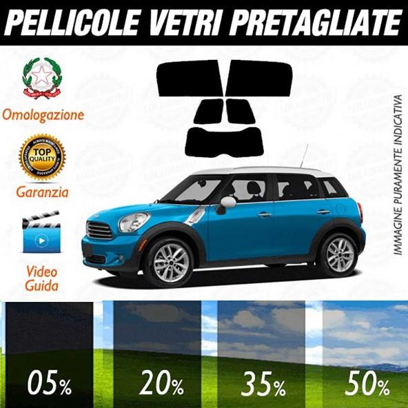 Mini Countryman dal 2010 ad OGGI Pellicole Oscuramento Vetri Auto Pre Tagliate a Misura