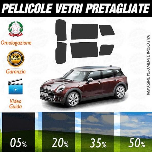 Mini Clubman 2016 Pellicole Oscuramento Vetri Auto Pre Tagliate