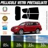Toyota Rav 4 08-10 Pellicole Oscuramento Vetri Auto Pre