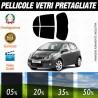 Toyota Yaris 5P 05-10 Pellicole Oscuramento Vetri Auto Pre