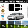 Toyota Prius 5P 04-09 Pellicole Oscuramento Vetri Auto Pre