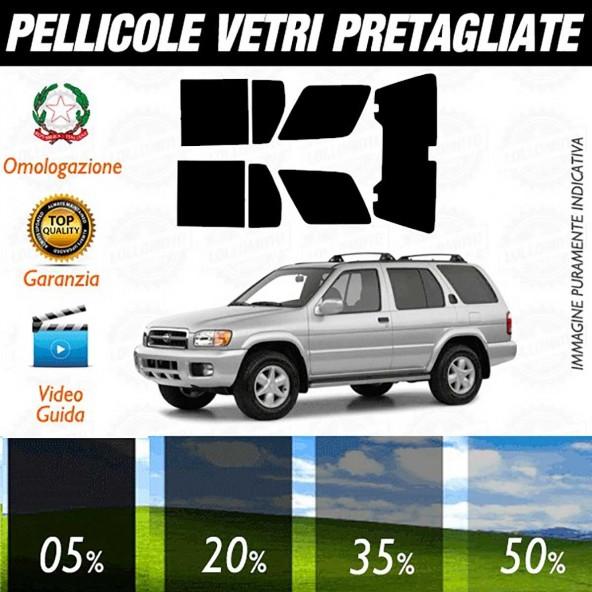 Nissan Pathfinder 01-04 Pellicole Oscuramento Vetri Auto Pre