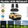 Nissan Juke 11-15 Pellicole Oscuramento Vetri Auto Pre Tagliate