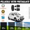Nissan Micra 4P 11-15 Pellicole Oscuramento Vetri Auto Pre