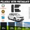 Nissan Pulsar 2014 Pellicole Oscuramento Vetri Auto Pre