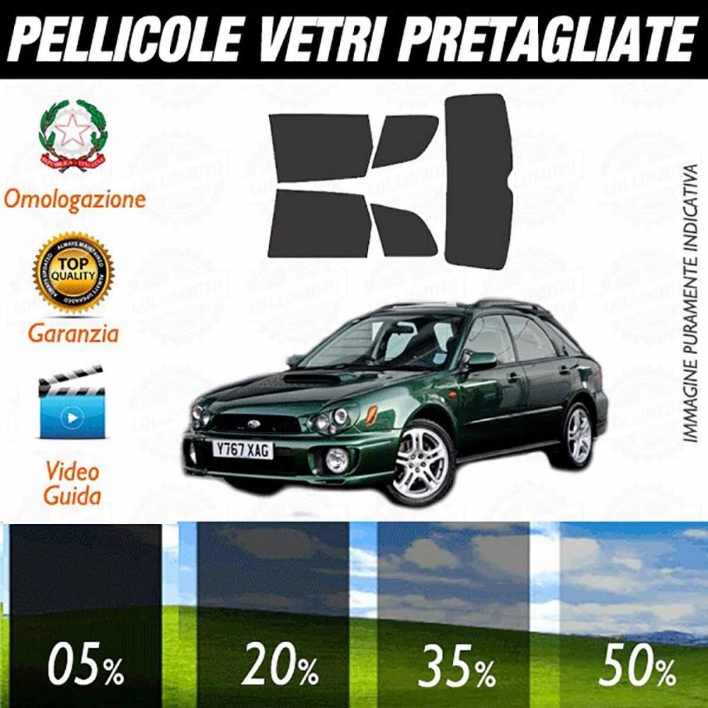 Subaru Impreza Wagon WRX 01-02 Pellicole Oscuramento Vetri Auto