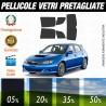Subaru Impreza Wagon WRX 04-07 Pellicole Oscuramento Vetri Auto