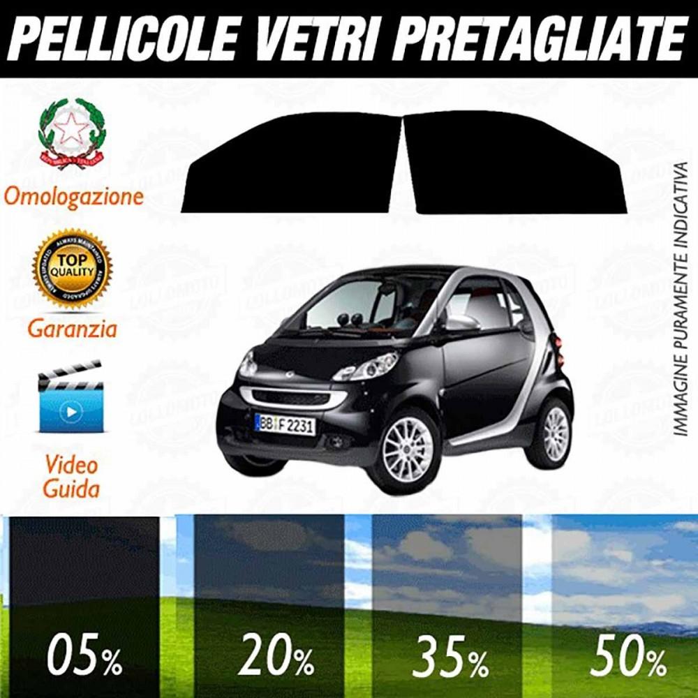 Smart ForTwo 2007-2014 Pellicole Oscuramento Vetri ANTERIORI