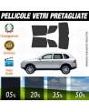 Porsche Cayenne 04-09 Pellicole Oscuramento Vetri Auto Pre
