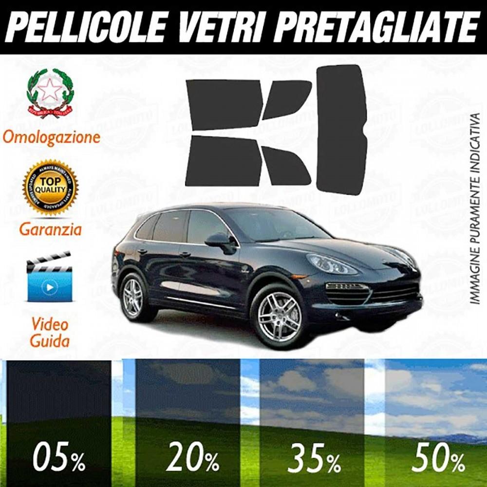 Porsche Cayenne 11-17 Pellicole Oscuramento Vetri Auto Pre