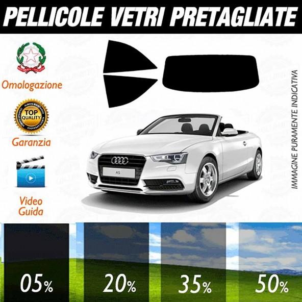 Audi A5 Cabrio dal 2010 al 2015 Pellicole Oscuramento Vetri Auto Pre Tagliate a Misura