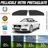 Audi A5 Cabrio 10-15 Pellicole Oscuramento Vetri Anteriori Auto