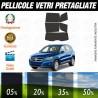 Volkswagen Tiguan 09-10 Pellicole Oscuramento Vetri Auto Pre