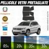 Volkswagen Tiguan 12-16 Pellicole Oscuramento Vetri Auto Pre