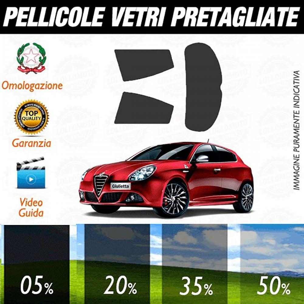 Alfa Romeo Giulietta 10-17 Pellicole Oscuramento Vetri Auto Pre