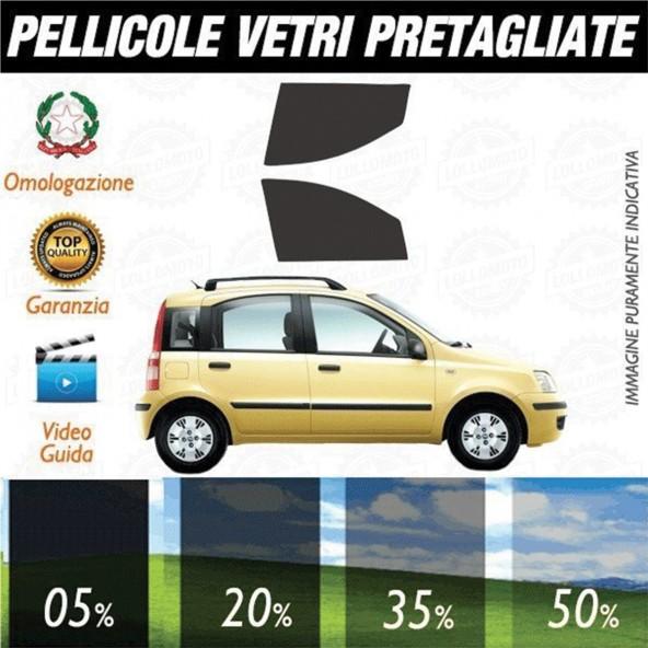 Fiat Panda 03-12 Pellicole Oscuramento Vetri Anteriori Auto Pre