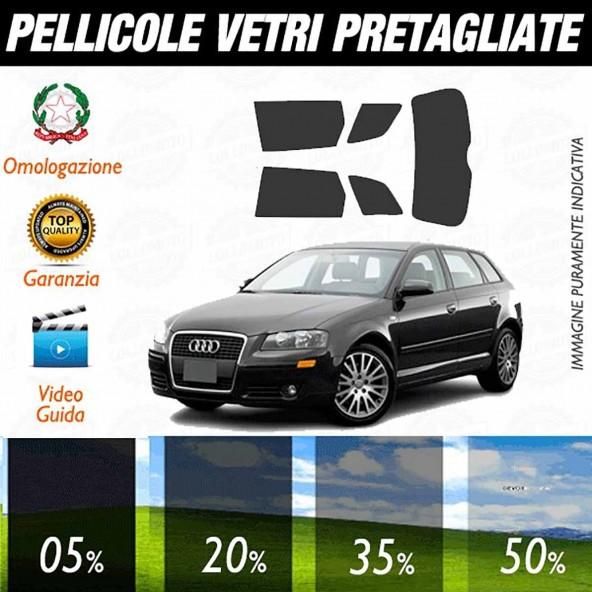 Audi A3 04-12 Pellicole Oscuramento Vetri Auto Pre Tagliate a