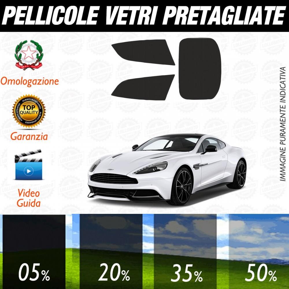 Aston Martin DB9 dal 2005 al 2010 Pellicole Oscuramento Vetri Auto Pre Tagliate a Misura
