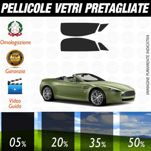 Aston Martin Rapide dal 2010 ad OGGI Pellicole Oscuramento Vetri Auto Pre Tagliate a Misura