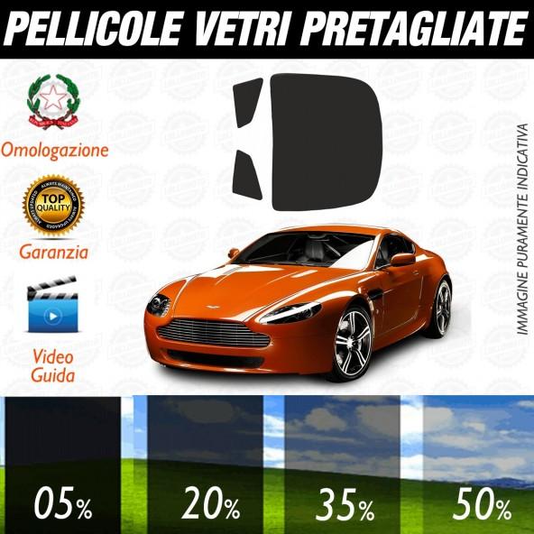 Aston Martin V8 Vantage Cabrio dal 2002 al 2011 Pellicole Oscuramento Vetri Auto Pre Tagliate a Misura